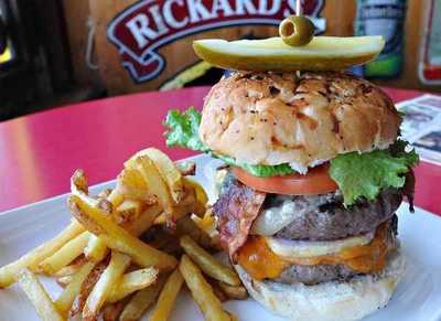 Medium burger