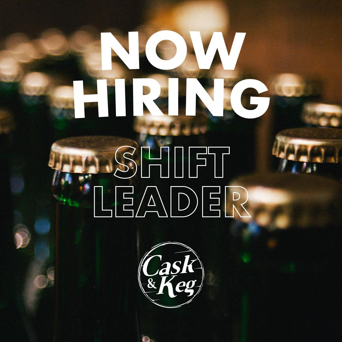 Shift leader cask keg