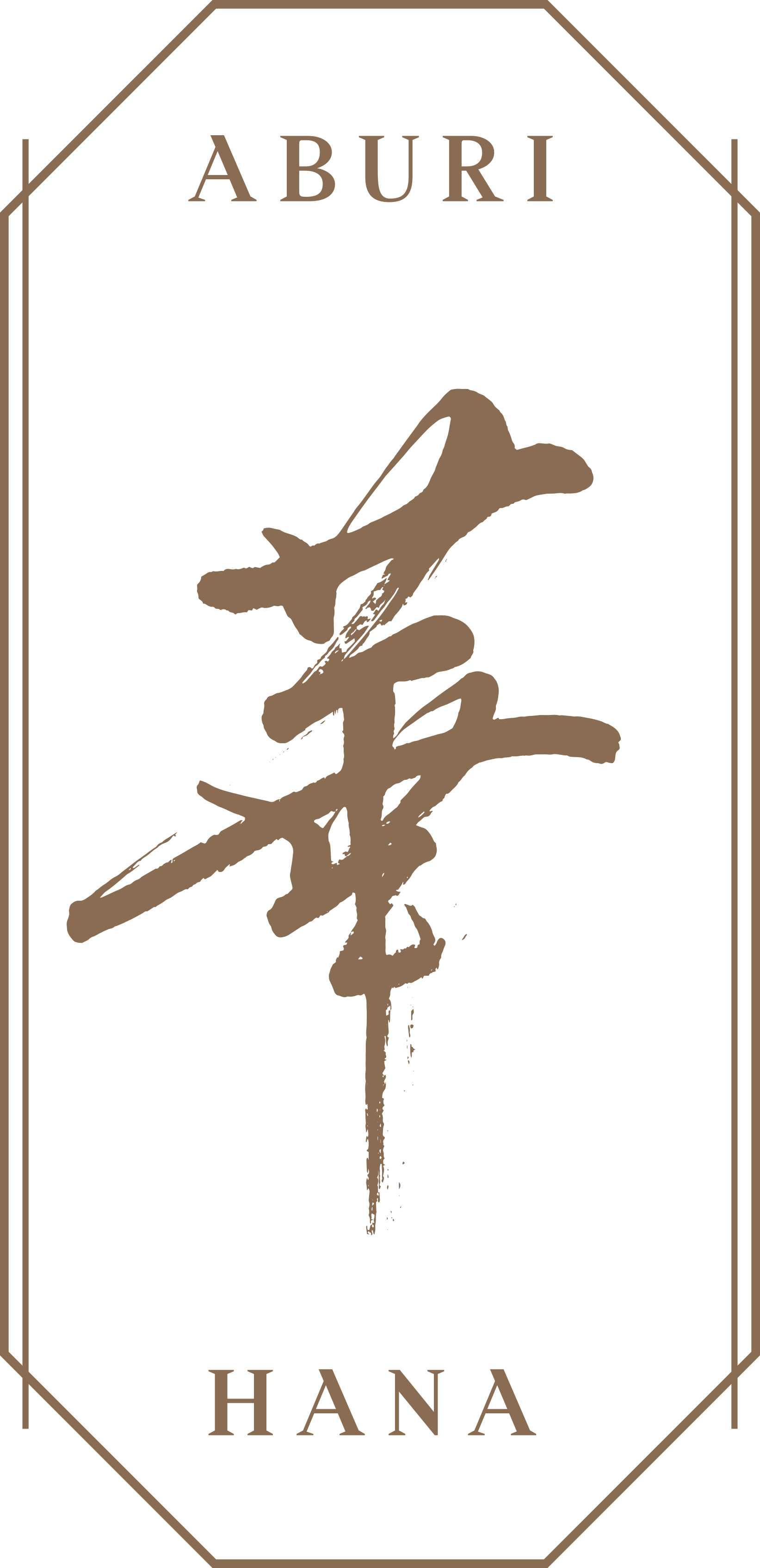 Hana logo brass