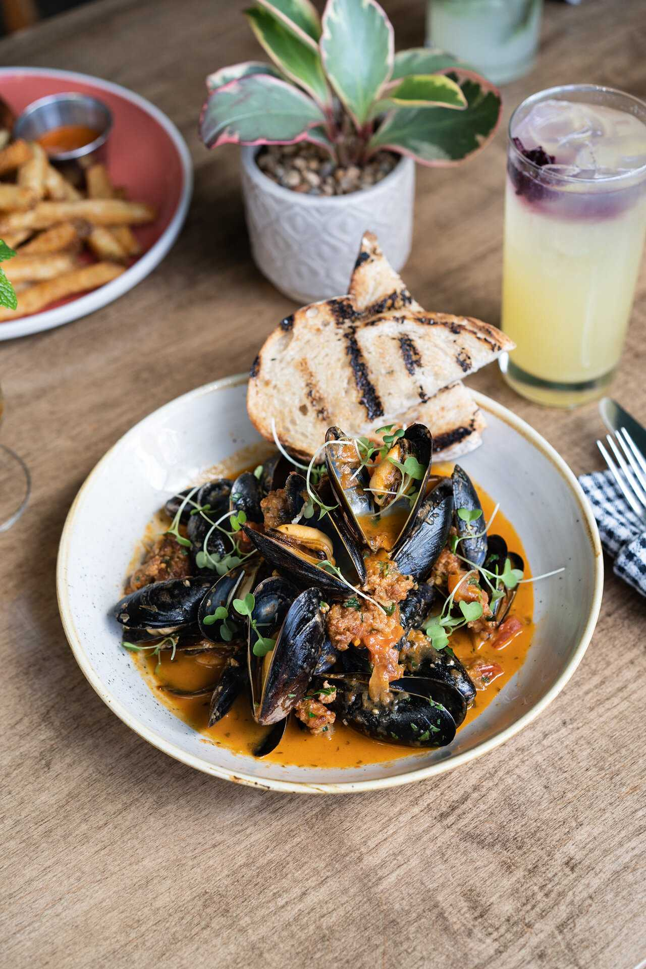 Havana mussels