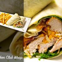 Medium chickenclubwrap