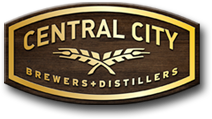 Medium central city brewers distillers logo
