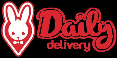 Medium dailydelivery logotype horizontal red