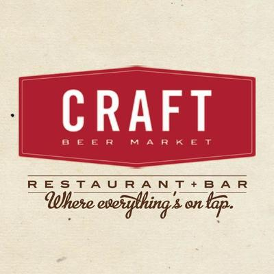 Medium craft beer market logo