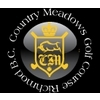 Medium country meadows golf course logo