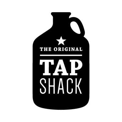 Medium shack logo growlerblack