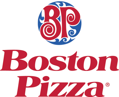 Medium boston pizza logo