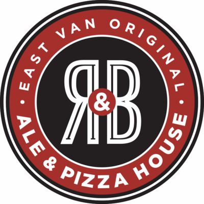 Medium r b ale pizza house logo