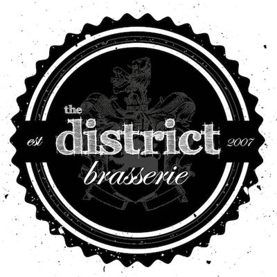 Medium the district brasserie logo