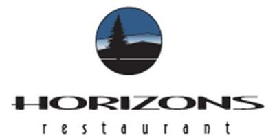 Medium horizons restaurant logo