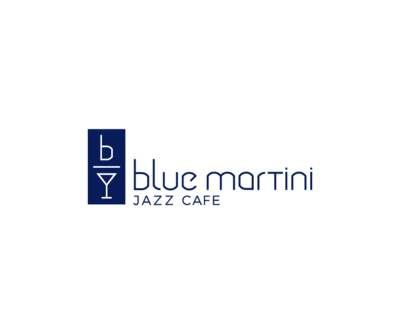 Medium blue martini logo final blue long