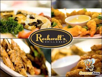 Medium 50percent off a  25 voucher for internationally inspired dining at rockwells grill bar