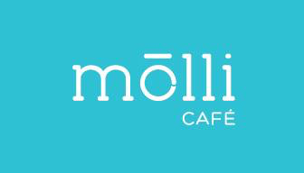 Medium molli cafe logo