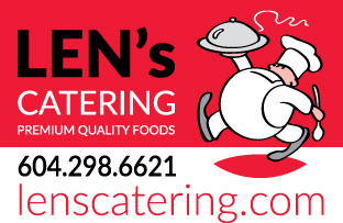 Medium lens catering logo