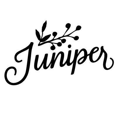 Medium juniper kitchen and bar logo