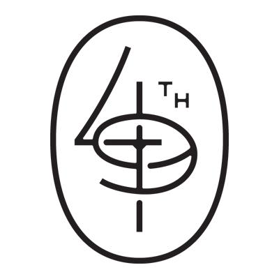 Medium monogram square