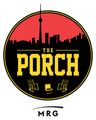 Medium the porch original black