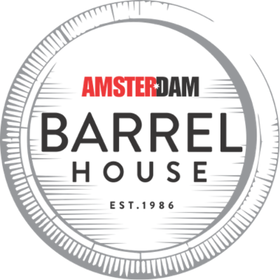 Medium barrel house logo