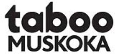 Medium 242taboo muskoka logo blknotm