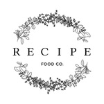 Small recipe food co logo
