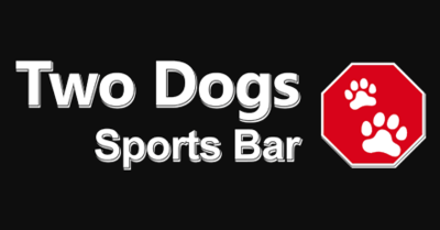 Medium two dogs sports bar