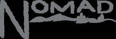 Medium nomad logo gray