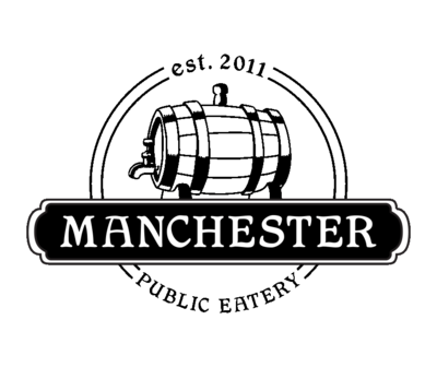 Medium manchester logo black