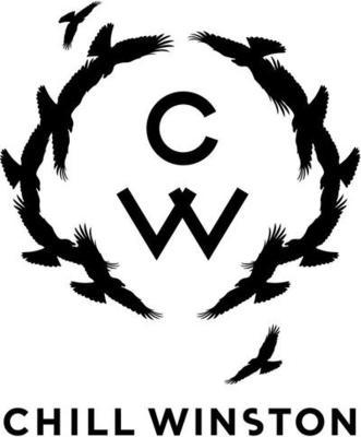 Medium 884chill winston logo black